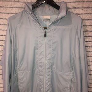 Columbia Women's Light Blue Jacket -XL